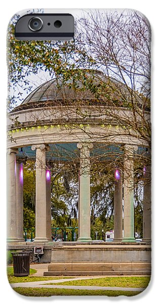 Bandstand iPhone Cases - Popp Bandstand iPhone Case by Steve Harrington