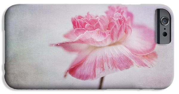 Poetic Photographs iPhone Cases - Poppy Poem iPhone Case by Priska Wettstein