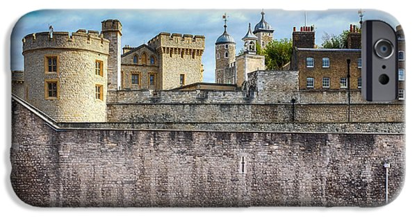 Ww1 iPhone Cases - Poppy Tribute Tower Of London Two iPhone Case by Paul Bucknall