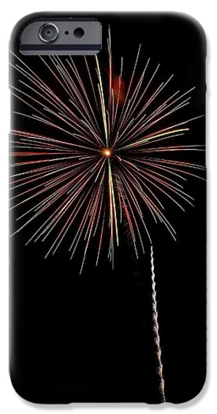 4th Of July iPhone Cases - Pops in the Park 2 iPhone Case by Lone  Dakota Photography