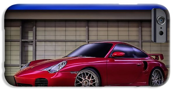 911 iPhone Cases - Porsche 911 Twin Turbo iPhone Case by Douglas Pittman