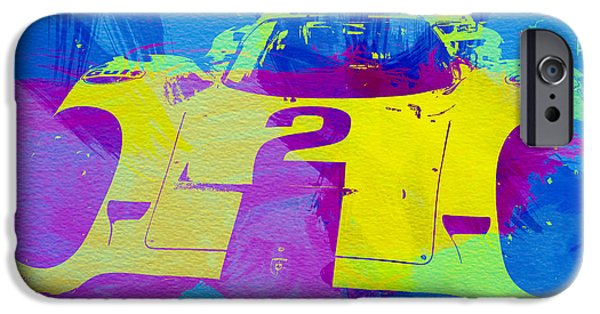 Racing Photographs iPhone Cases - Porsche 917 Front End iPhone Case by Naxart Studio