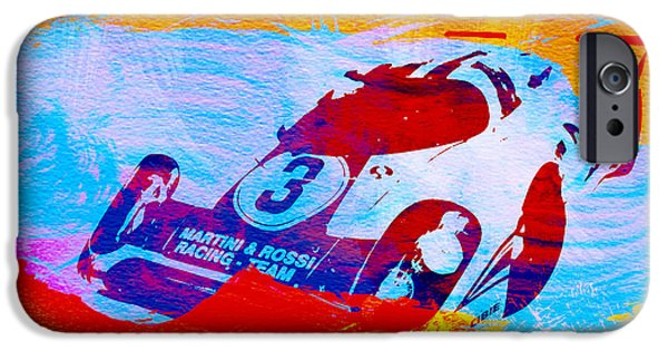 Racing iPhone Cases - Porsche 917 Martini and Rossi iPhone Case by Naxart Studio