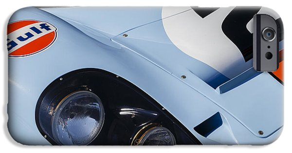 Porsche 917k iPhone Cases - Porsche 917K iPhone Case by Dennis Hedberg