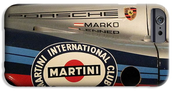 Porsche 917k iPhone Cases - Porsche 917K iPhone Case by Kelly Mezzapelle
