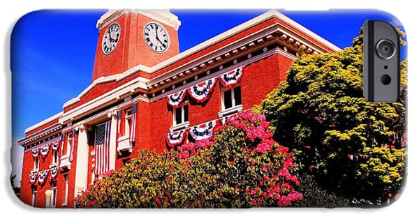 Old Glory iPhone Cases - Port Angeles iPhone Case by Benjamin Yeager
