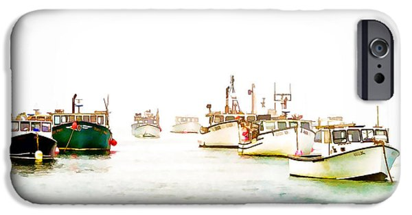 Chatham iPhone Cases - Port Bound  Chatham Cape Cod Photo Art iPhone Case by Constantine Gregory