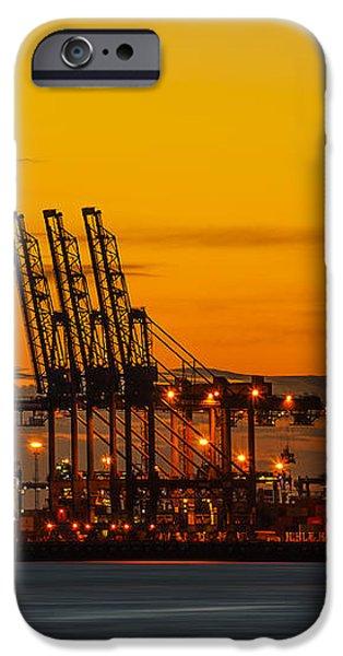 Port of Felixstowe iPhone Case by Svetlana Sewell