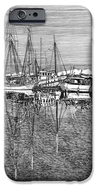 Port Orchard Reflections iPhone Case by Jack Pumphrey
