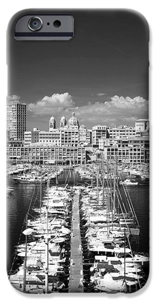 Port Parking Only iPhone Case by John Rizzuto