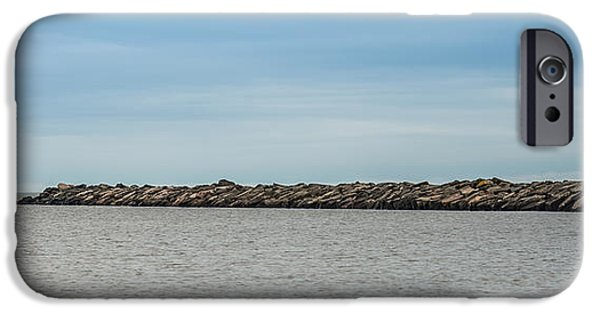 Portage iPhone Cases - Portage Point Upper Entry Light iPhone Case by Paul Freidlund