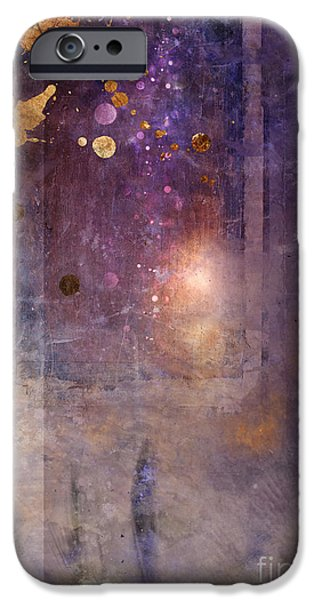 Abstract Digital Art iPhone Cases - Portal iPhone Case by Aimee Stewart