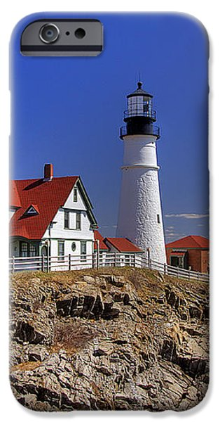 Portland Head Light 3 iPhone Case by Joann Vitali