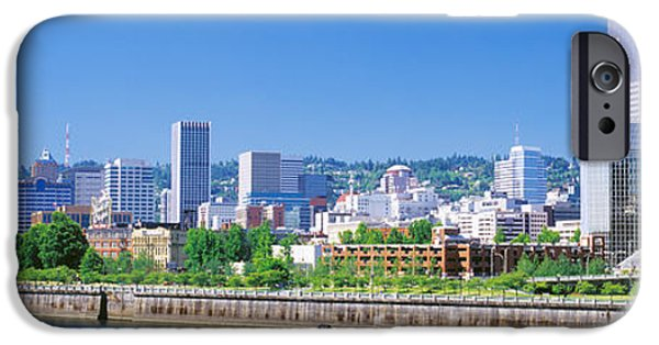 Pacific Northwest Rivers iPhone Cases - Portland Oregon Usa iPhone Case by Panoramic Images