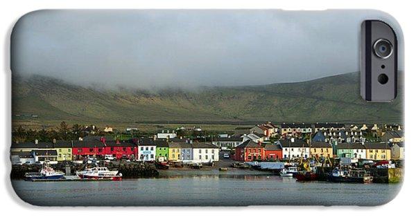 Village iPhone Cases - Portmagee - Ireland iPhone Case by Lyle McNamara