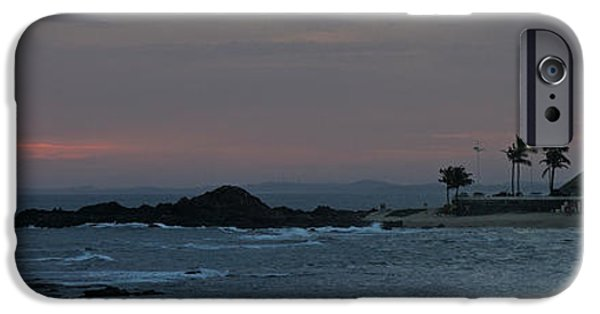 Lighthouse iPhone Cases - Porto Da Barra Beach With Forte De iPhone Case by Panoramic Images