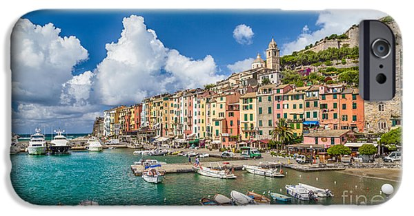 Historic Site iPhone Cases - Portovenere iPhone Case by JR Photography