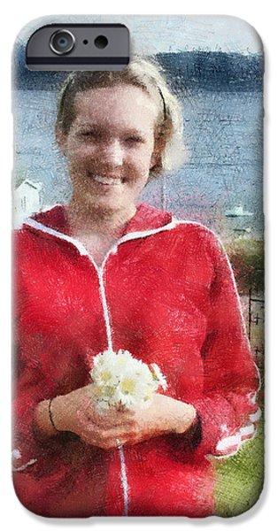 Portrait in Newfoundland iPhone Case by Jeff Kolker