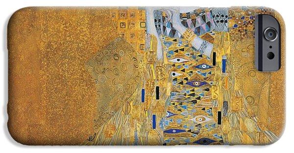 Best Sellers -  - Strange iPhone Cases - Portrait of Adele Bloch-Bauer I iPhone Case by Gustav Klimt