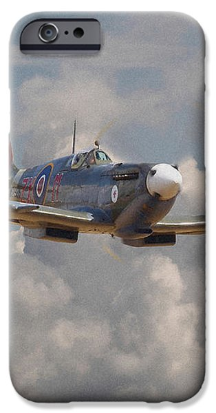 Portrait of an Icon iPhone Case by Pat Speirs