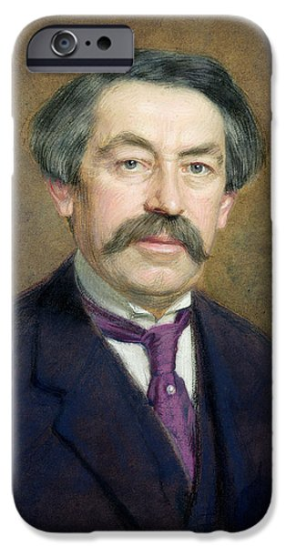 Politician iPhone Cases - Portrait Of Aristide Briand 1862-1932 1916 Pastel On Paper iPhone Case by Marcel Andre Baschet
