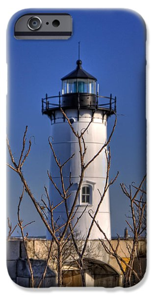 Constitution iPhone Cases - Portsmouth Harbor Light 3 iPhone Case by Joann Vitali