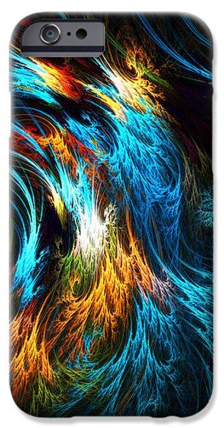 Poseidon's Wrath iPhone Case by Lourry Legarde