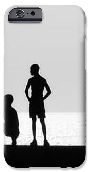 Posing iPhone Case by Erik Brede