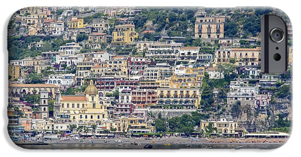 Village iPhone Cases - Positano iPhone Case by Keith Armstrong