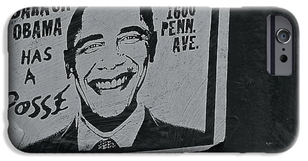 Obama iPhone Cases - Posse  iPhone Case by Scott Collin