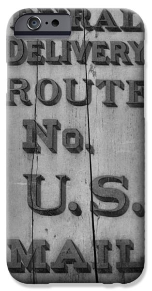 Us Postal Service iPhone Cases - Postal Service iPhone Case by Dan Sproul
