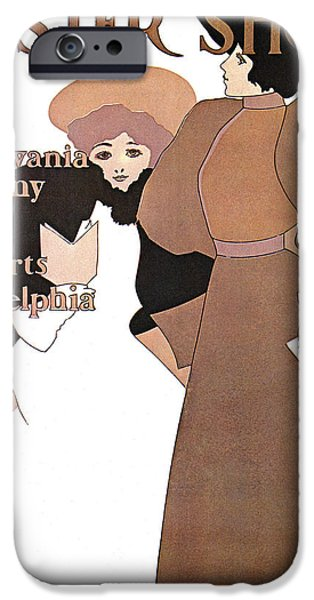 Poster Show 1896 iPhone Case by MAXFIELD PARRISH