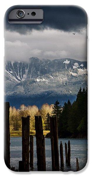 Potential - Landscape Photography iPhone Case by Jordan Blackstone