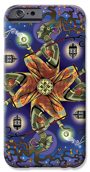 Potential Mandala iPhone Case by Cristina McAllister