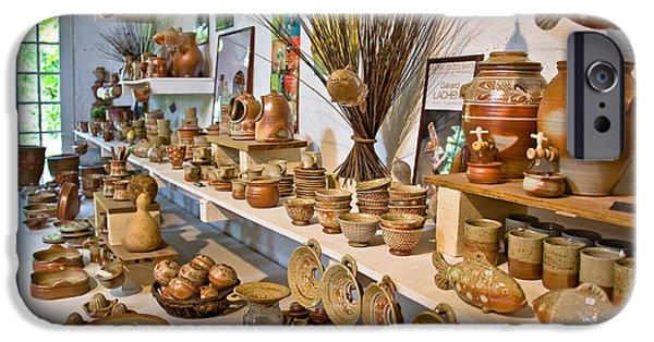 Master Potter iPhone Cases - Pottery in La Borne iPhone Case by Oleg Koryagin