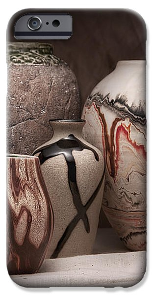Pottery Still Life iPhone Case by Tom Mc Nemar
