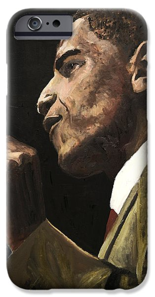 President Obama iPhone Cases - Potus 2 iPhone Case by Roger  James