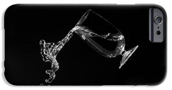 Ice Wine iPhone Cases - Pour me some wine iPhone Case by Tin Lung Chao