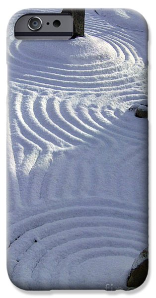 Incarnation iPhone Cases - Powder In ZEN Two iPhone Case by Feile Case