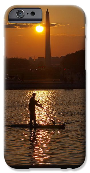 Smithsonian Pyrography iPhone Cases - Power Paddle iPhone Case by Simon Robinson