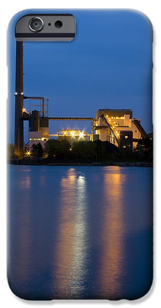 Industry iPhone Cases - Power Plant iPhone Case by Adam Romanowicz
