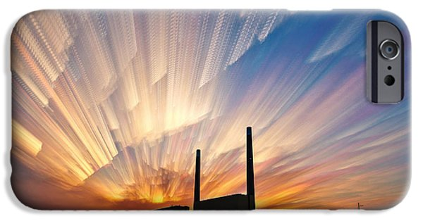 Recently Sold -  - Power iPhone Cases - Power Plant iPhone Case by Matt Molloy