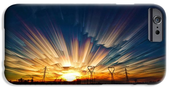 Merging iPhone Cases - Power Source iPhone Case by Matt Molloy