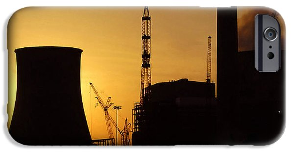 Power Industry iPhone Cases - Power work C iPhone Case by David Lee Thompson