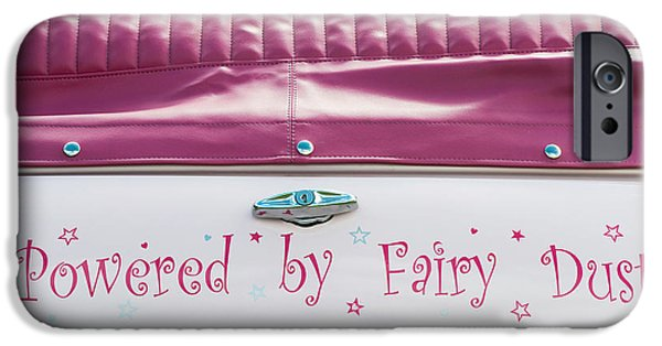 Sticker iPhone Cases - Powered by Fairy Dust iPhone Case by Tim Gainey