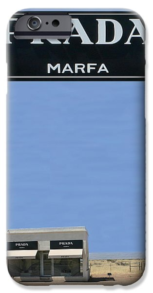 PRADA MARFA TEXAS iPhone Case by Jack Pumphrey
