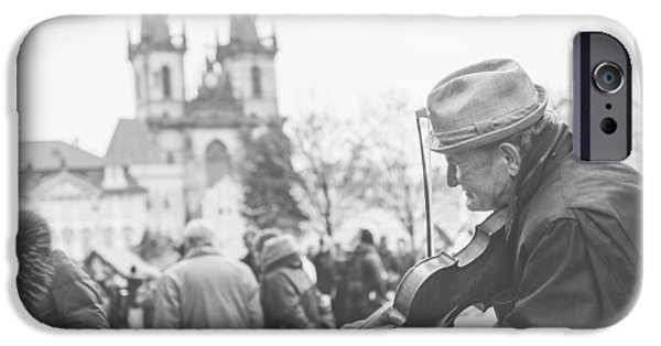 Violin iPhone Cases - Prague iPhone Case by Cory Dewald