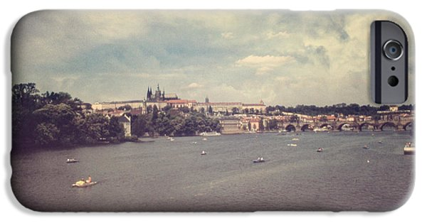 Charles River iPhone Cases - Prague Days II iPhone Case by Taylan Soyturk