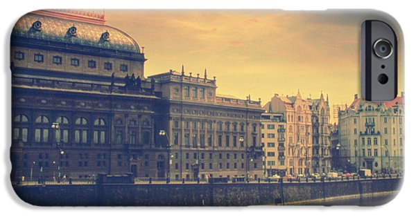 Charles River iPhone Cases - Prague Days iPhone Case by Taylan Soyturk