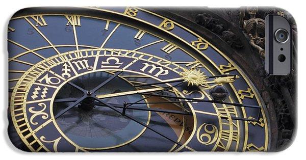Family Time iPhone Cases - Prague Orloj iPhone Case by Adam Romanowicz